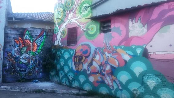 Grafite no Beco do Batman Foto: Patrícia Ribeiro/ Passeios Baratos em SP